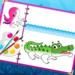 Best Sea Creatures Coloring Book – superman coloring book